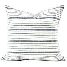 gray and white striped outdoor pillows stripe pillow cover in natural black