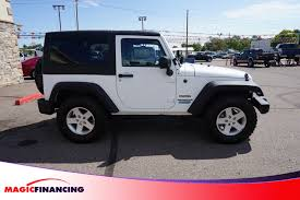 2011 Jeep Wrangler Gear Ratio Chart 2014 Used Jeep Wrangler 4wd 2dr Willys Wheeler At Magic Financing Serving Denver Co Iid 19328851