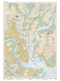 Charleston Nautical Chart Charleston Harbor 2015 Old Map Nautical Chart South Carolina Reprint Ac Harbors 470