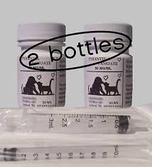 2 Pet Dewormer Pyrantel Wormer For Dogs Puppies Cats Kittens