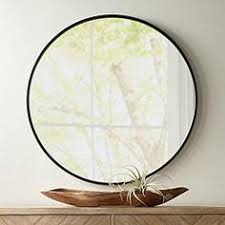 48 round mirror. Mayfair Matte Black 34 48 Round Mirror J