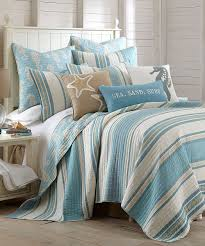 Ocean Bedroom Blue Ocean Quilt Set Twin Quilt All Things And Beaches