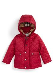 Burberry 'Jamie' Quilted Hooded Puffer Jacket (Baby Girls ... & Burberry 'Jamie' Quilted Hooded Puffer Jacket (Baby ... Adamdwight.com