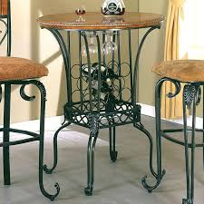 sofa table with wine storage. Table With Wine Rack Pub Surprise Bar Round Storage By Crown Mark . Sofa