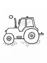 Grappige Tractors Kleurplaten