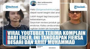 Jumat, 5 februari 2021 19:57. Review Eiger Viral Videos