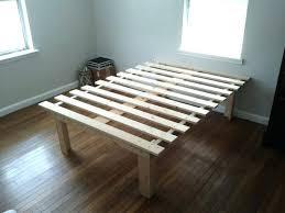 raised platform bed frame impressive raised platform bed with best ...