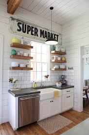 farmhouse kitchen sink kitchen farmhouse with vintage sign open