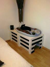 diy cat box cabinet evanandkatelyncom. Cat Litter Box Furniture Ideas Cover From 2 Ikea Side Tables And Fabric This Diy Cabinet Evanandkatelyncom