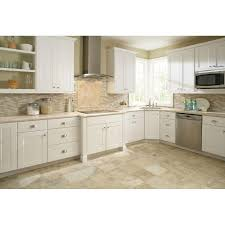 Hampton Bay Kitchen Cabinets Design Hampton Bay Shaker Assembled 30x34 5x24 In Base Kitchen