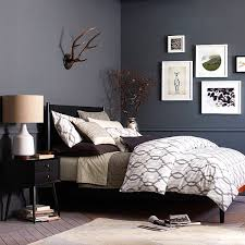 black bedroom furniture wall color. Inspiring Black Lacquer Furniture Applied For Bedroom With King Bed Pertaining To Wall Color N