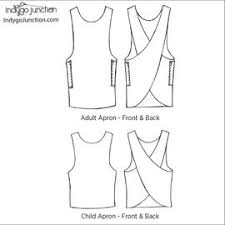 Japanese Apron Pattern Magnificent Aprons IndygoJunction