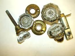 antique glass door knobs value knob 2 for repair