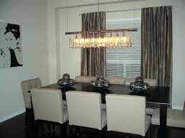 modern linear rectangular island dining room crystal chandelier rectangle chandeliers