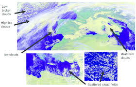 Different Types Of Clouds As Seen From The Msg Satellite Copyright