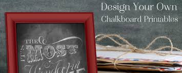 Chalkboard Sign Generator How To Design Custom Chalkboard Printables For Free