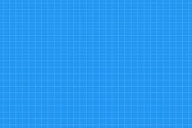 Graph Paper Seamless Pattern Architect Background Blue