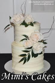 Mimis Cakes Simple And Elegant Buttercream Wedding Cake Facebook