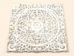 white wash wood carving wall art panel hanging lotus carved plaque decor wooden panels top best wooden carved wall