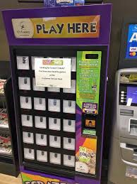 Game Vending Machines Awesome Lottery Rolling Out Hitech Vending Machines To Sell Tickets