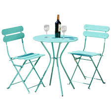 outdoor metal table set. Rst Brands Sol Green 3 Piece Patio Bistro Set Op Bs3 Grn The Folding Metal Table Outdoor