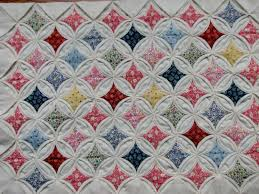 16 Best Photos of Folded Quilt Block Patterns - Cathedral Window ... & Cathedral Window Quilt Block Pattern Adamdwight.com