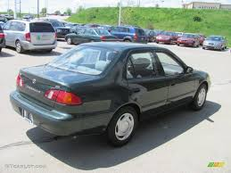 2000 Woodland Green Pearl Toyota Corolla CE #29536360 Photo #7 ...