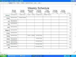 Excel Spreadsheet Template For Employee Schedule Debt