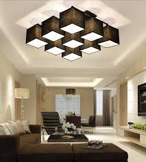 lighting in house. country style multi square shade ceiling light dinner room lamp sitting house lighting different form in s