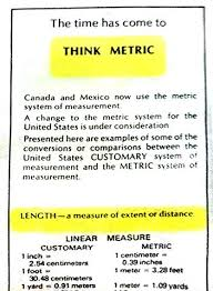 Usatf Metric Conversion Chart Metrication In The United States Wikiwand