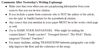 explaining a quote in an essay