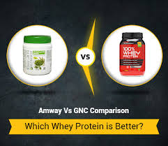 Whey Protein Brand Comparison Chart Amway Vs Gnc Whey Protein 5 Differences You Must Know