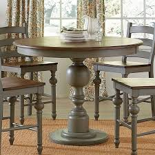 acme acme dresden 5 pc round counter height dining table set in pertaining to round counter height table prepare