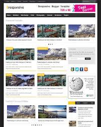 Bresponsive Advanced Responsive Premium Magazine Blogger Template Free