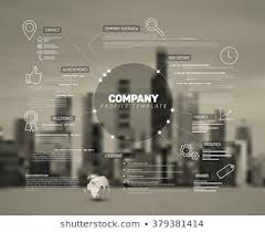 Company Overview Templates Company Overview Templates Stock Illustrations Images