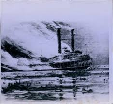 「1865, the steamboat Sultana exploded」の画像検索結果