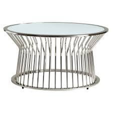 chelsea lane planter glass top cocktail table silver