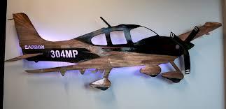 metal aviation art sr cirrus tys