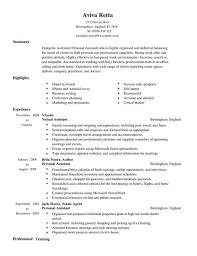 Personal Assistant Resume Examples Www Freewareupdater Com