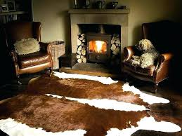 amazing faux animal skin rugs