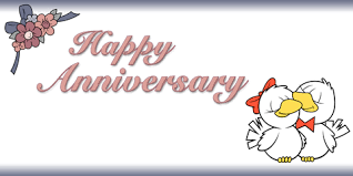 happy anniversary banners custom happy anniversary banner with love birds dream scenes