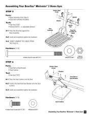 Bowflex Motivator Exercise Chart Motivator 2 Parts Bowflex