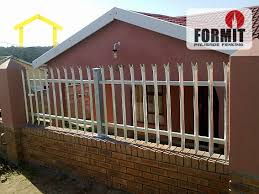 Small Picture Palisade fencing in East London Contractorfindcoza