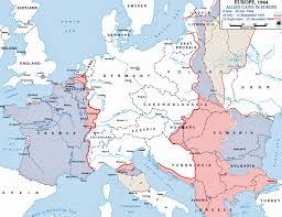 map of europe in  for of during wwii  roundtripticketme