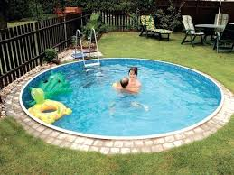 diy small pool ideas surprising swimming pools vs fiberglass pools small pools pool