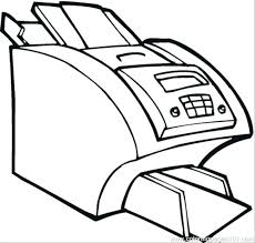 Coloring Page Computer Computer Coloring Page Printable Coloring