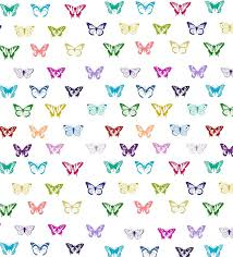 Butterfly Pattern Adorable Rainbow Butterfly Pattern Digital Art By Li Or