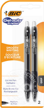 Купить <b>Ручка Bic</b> Gel-Ocity <b>гелевая</b> черная 2шт с доставкой на ...
