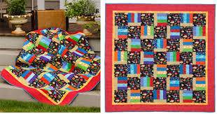 """3 ways to party on National Quilting Day - Stitch This! The ... & Summer Camp from Fast and Fun First Quilts """" Adamdwight.com"""
