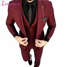 Linyixun 2017 <b>Latest Coat Pant Designs</b> Green Men Suit Slim Fit ...